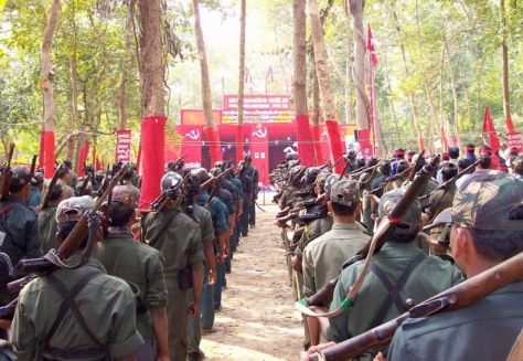 The People's Liberation Guerrilla Army, led by the CPI(Maoist)