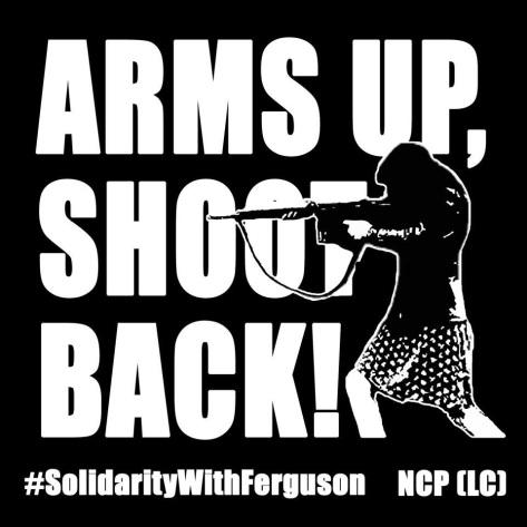 #ArmsUpShootBack